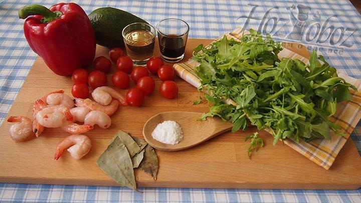 Салат приготовим из этого набора продуктов