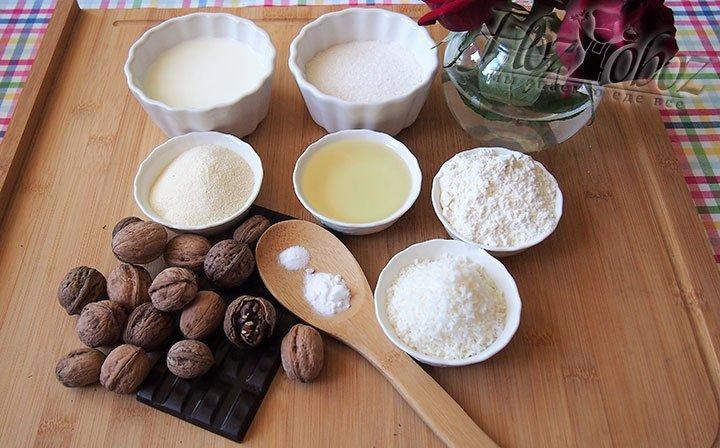 Баунти изготовим из таких продуктов