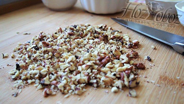 Ядра орехов нарубим