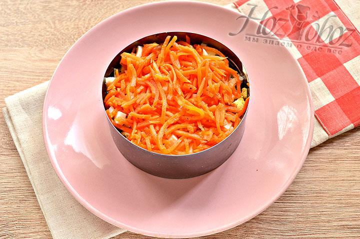 Теперь морковь