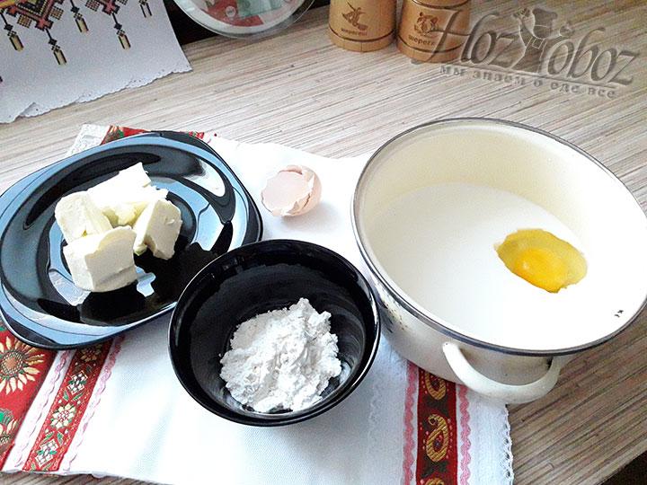 Кладем яйцо