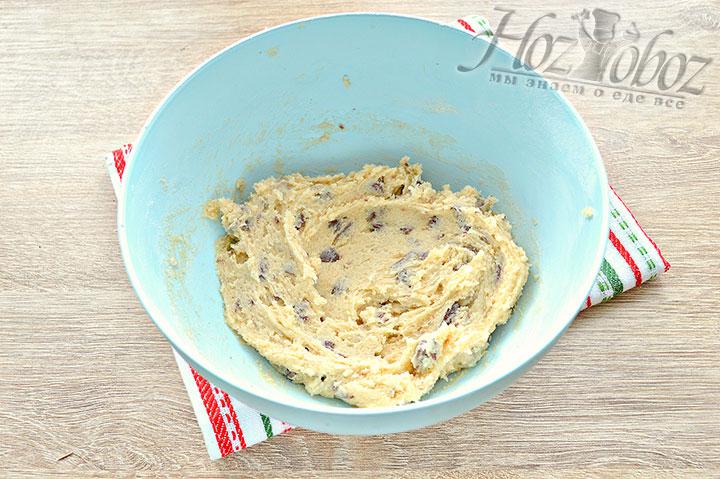 Перемешиваем, тесто готово для печенья