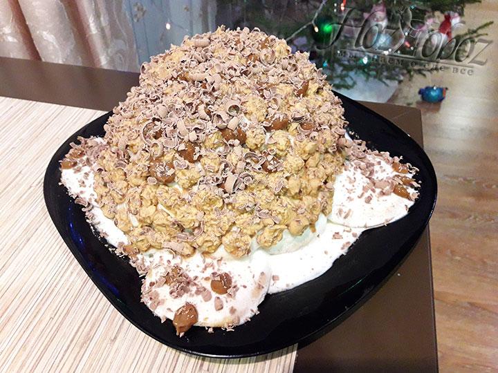 Декорируем готовый торт