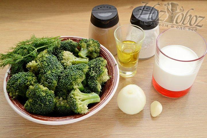Прежде всего подготовим необходимые для супа продукты