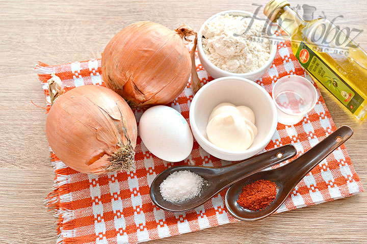 Подготавливаем нужные продукты для реализации рецепта