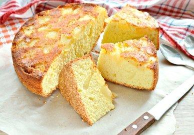 Пирог с ананасами консервированными