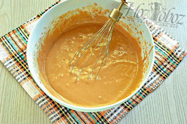 Готовое тесто с какао-порошком для маффинов