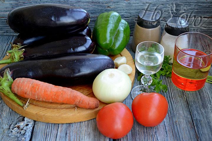 Подготовим все ингредиенты для приготовления икры.