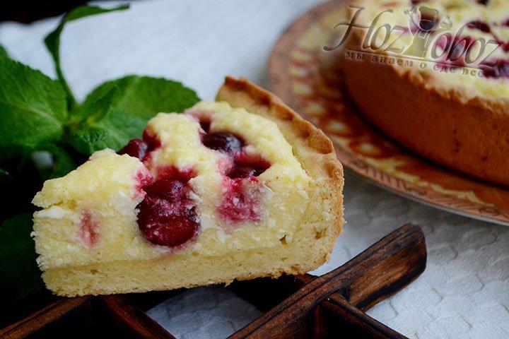 Пирог Божественно красив и вкусный.