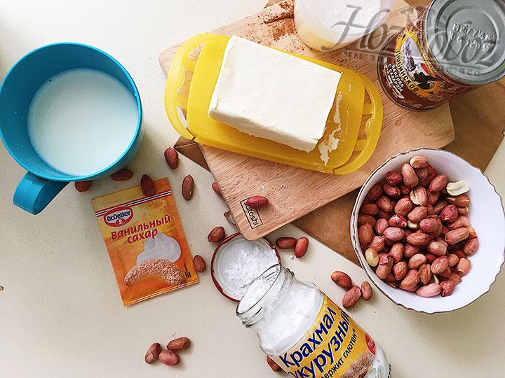 Подготовим ингредиенты для прослойки торта.