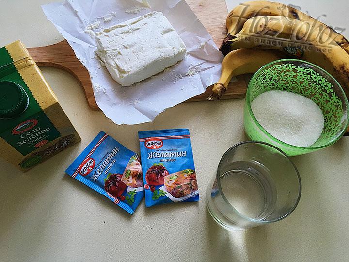Подготовим ингредиенты для начинки торта.