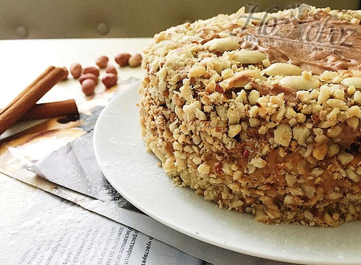 Домашний торт «Сникерс» готов!