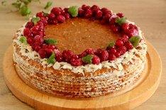 Вафельный торт рецепт
